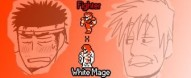 Fighter x White Mage