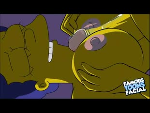 The Simpsons Porn - Horny Marge