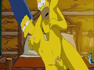 The Simpsons Movie Sex Scene - Horny Marge & Homer