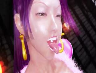One Piece 3D Hentai - Prison Snake Princess