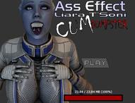 Ass Effect - Liara T'Soni Cum Dumpster