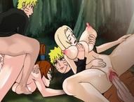 Naruto x Tsunade x Mei Terumi (Loop)